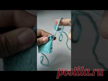 Способ вязания без поворота полотна | Журнал Ярмарки Мастеров