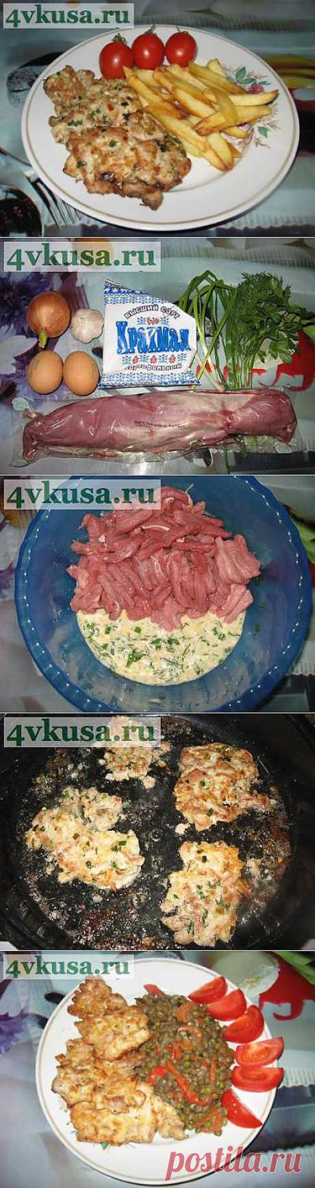 Мясо фри за 5 минут. Фоторецепт. | 4vkusa.ru