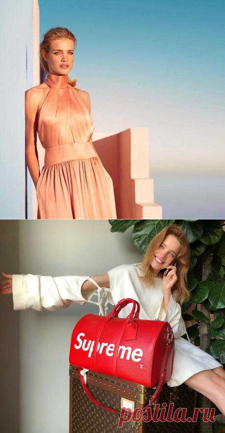 Наталья Водянова в красивой подборке фотографий из Инстаграм | VestiNewsRF.Ru