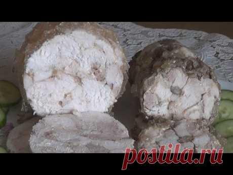 Куриная ветчина домашняя в банке просто и вкусно. Два вида и способа приготовления #domavkusno