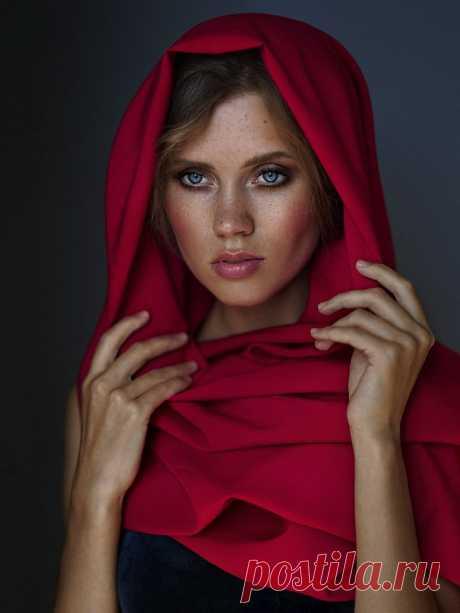 Девушки фотографа Алексея Казанцева.