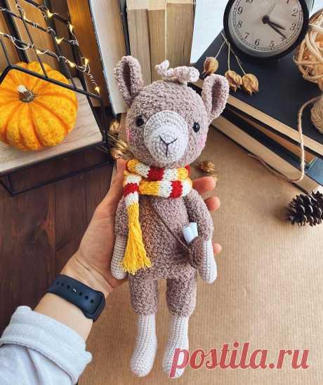 PDF Лама Дэйв крючком. FREE crochet pattern; Аmigurumi animal patterns. Амигуруми схемы и описания на русском. Вязаные игрушки и поделки своими руками #amimore - Лама.