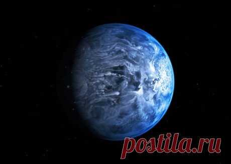 Новые факты о голубой экзопланете / Astro Analytics