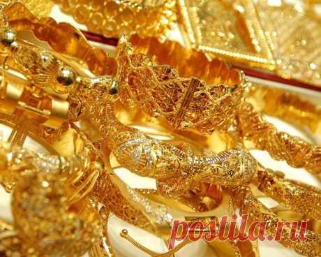 Рай для любителей золота: Золотой рынок Дубая, или Dubai Gold Souk!