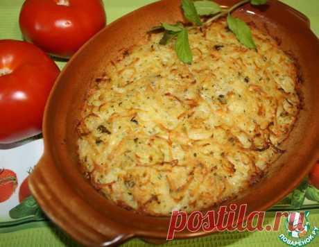 """Картофельная запеканка """"Пататник"""" – кулинарный рецепт"""