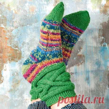 Вязание носков спицами для начинающих пошагово с подробными схемами, инструкциями, описанием - Сделай сам - медиаплатформа МирТесен