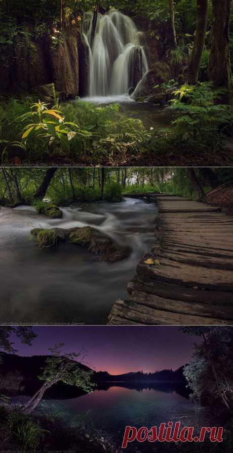 Лучшие сайты - Плитвицкие озера - Национальный парк в Хорватии