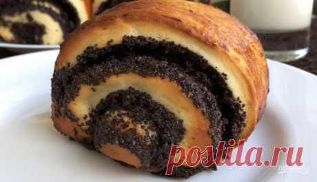 Домашние булочки с маком - пошаговый рецепт с фото на Повар.ру