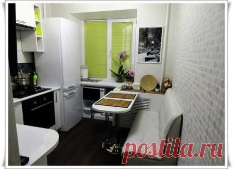 Дизайн маленькой кухни / Необычные поделки
