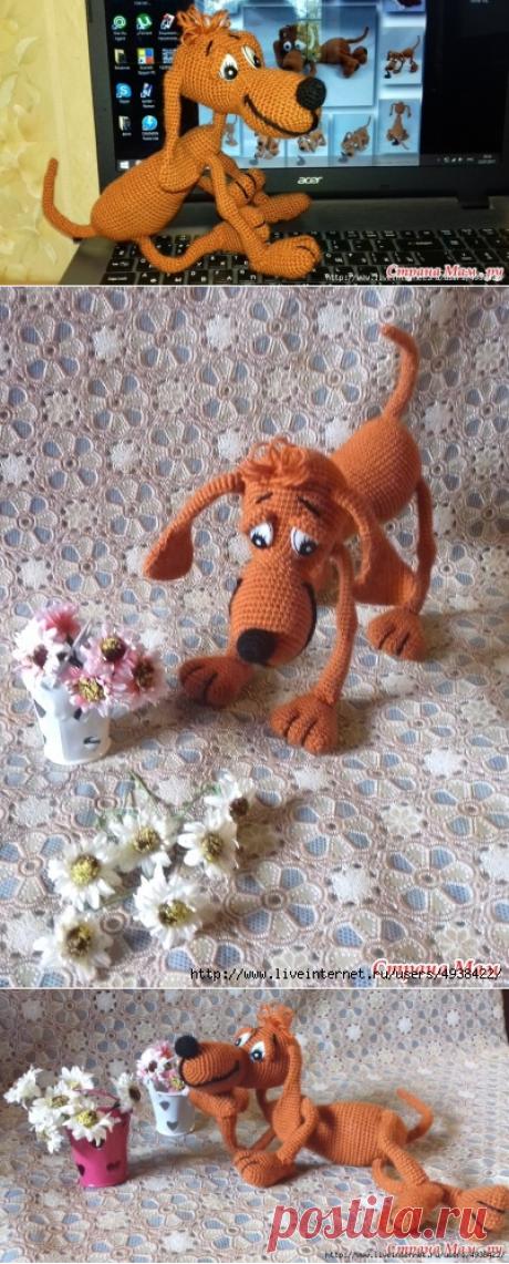 Собака Дуг дворянской породы.