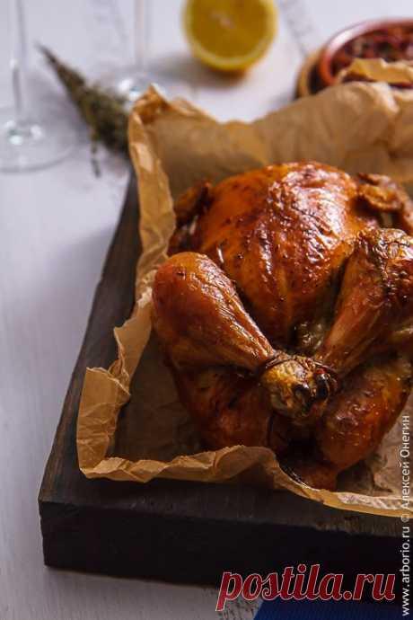 Просто курица в духовке | Кулинарные заметки Алексея Онегина