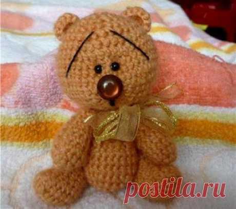 1000 схем амигуруми на русском: Медвежонок крючком