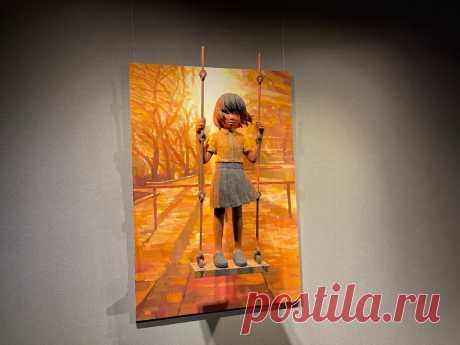 Живые и пронзительные картины японского художника Синтаро Охаты: побывала на невероятной выставке в Эрарте | Соло - путешествия | Яндекс Дзен
