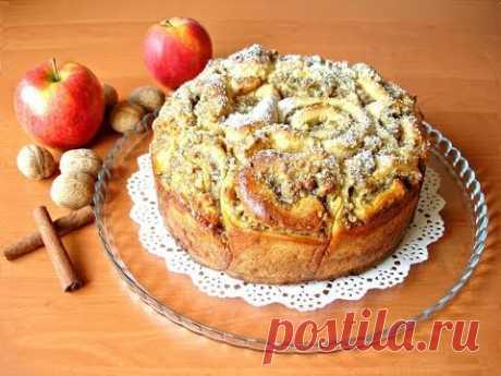 Бесподобный пирог из «розочек» с вкуснейшей начинкой - запись пользователя Светлана Аниканова в сообществе Болталка в категории Кулинария