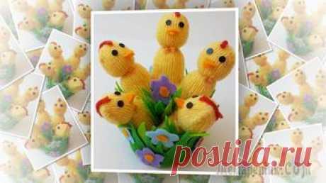 Лёгкий в изготовлении Пасхальный декор – цыплята из перчаток своими руками