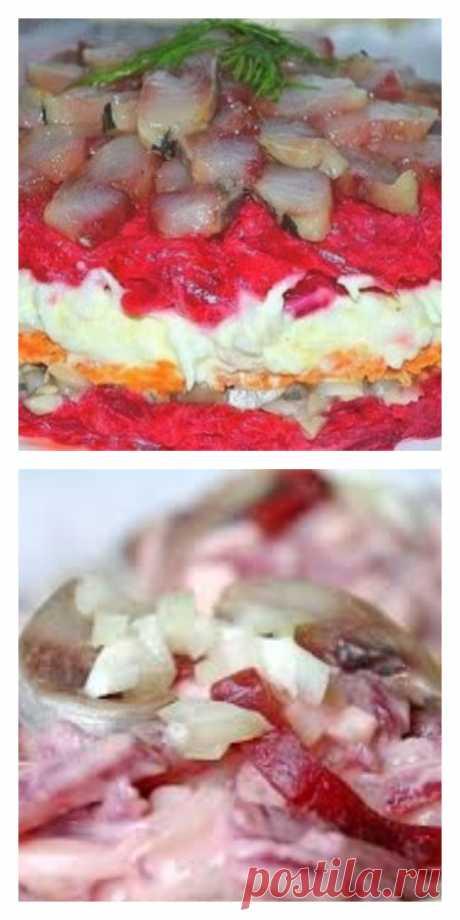 Очень вкусный салат с сельдью - lucheedlavas.ru
