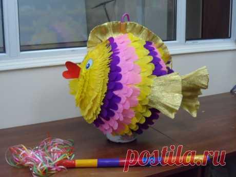 пиньята рыбка 5000т