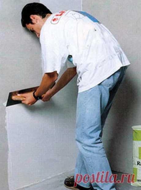 Как выровнять стены - 2 способа - - Инструкции по ремонту