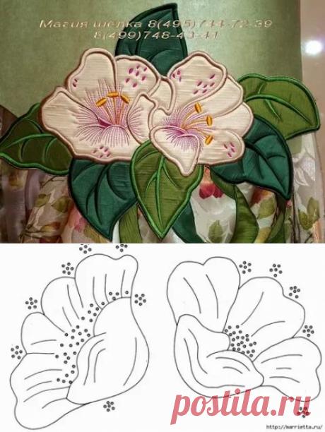 аппликация из ткани цветы шаблоны: 10 тыс изображений найдено в Яндекс.Картинках