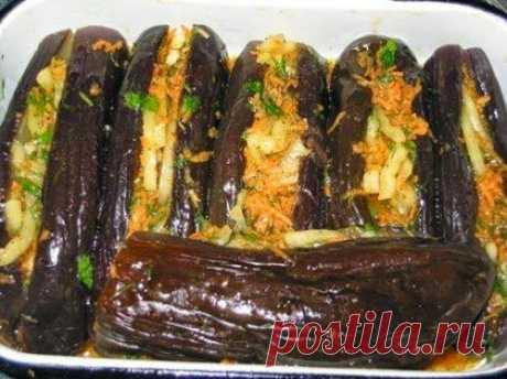 шеф-повар Одноклассники: Фаршированные квашеные баклажаны