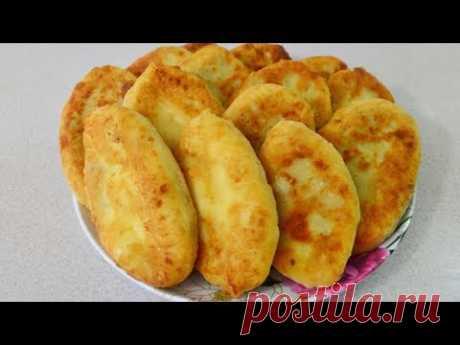 Секрет МЯГУСЕНЬКИХ пирожков на сковороде с картофелем и печенью