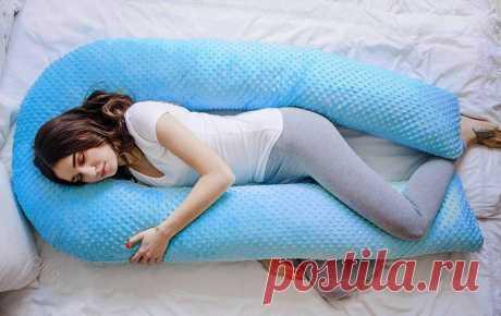 Подушка для беременных: делаем сон комфортным