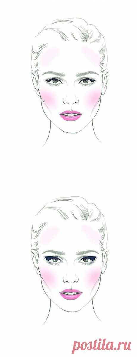 (294) Как сделать глаза больше с помощью стрелок   статОТКАКРАСьи о красоте и здоровье   Леди@Mail.Ru