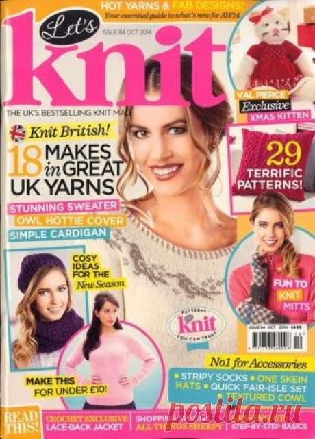 Let's Knit ISSUE 84 October 2014