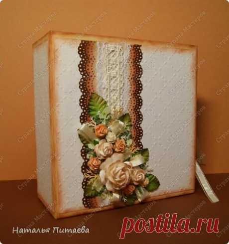 Свадебная коробочка   Страна Мастеров