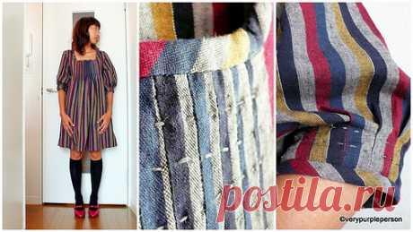 Полосатом платье | verypurpleperson