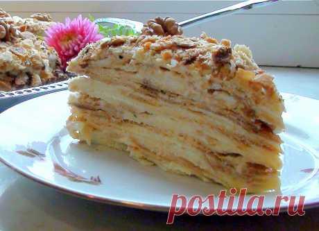 Творожный торт на сковороде - Вкусные рецепты - медиаплатформа МирТесен