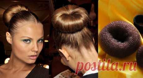 Пучок для волос (36 фото): накладной, заколка, видео-инструкция по укладке своими руками, как резинкой правильно собрать, убрать, фото и цена