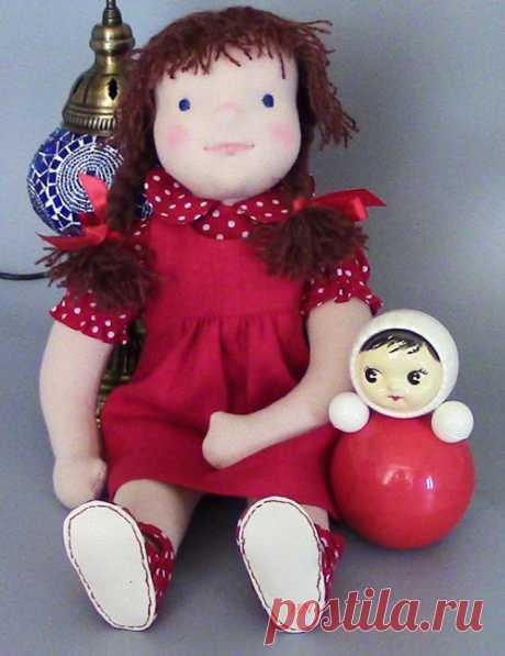 По мотивам вальдорфской куклы | HobbyNotes.ru — Заметки о хобби