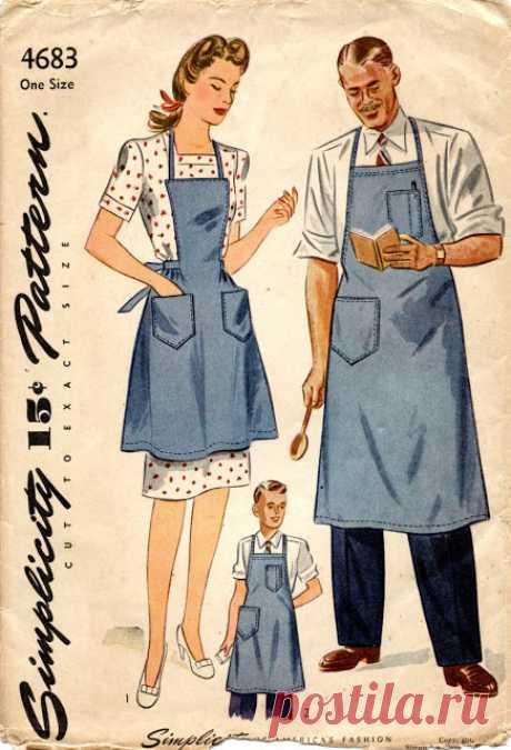 Unsung Sewing Patterns: occupational garment