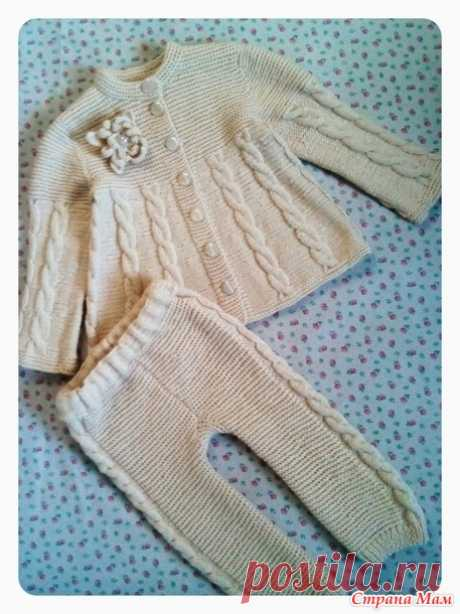 Suit for the girl - Knitting - the Country of Mothers