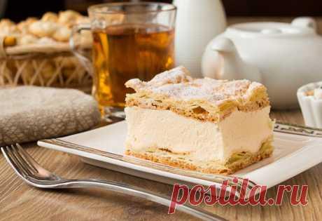 Удивительно простой и очень вкусный заварной пирог: КАРПАТКА — Вкусные рецепты