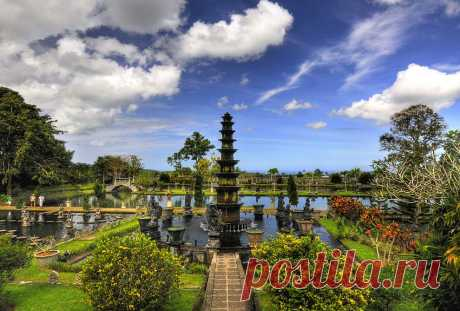 Водный дворец Тиртаганга на Бали — НеПутевые заметки