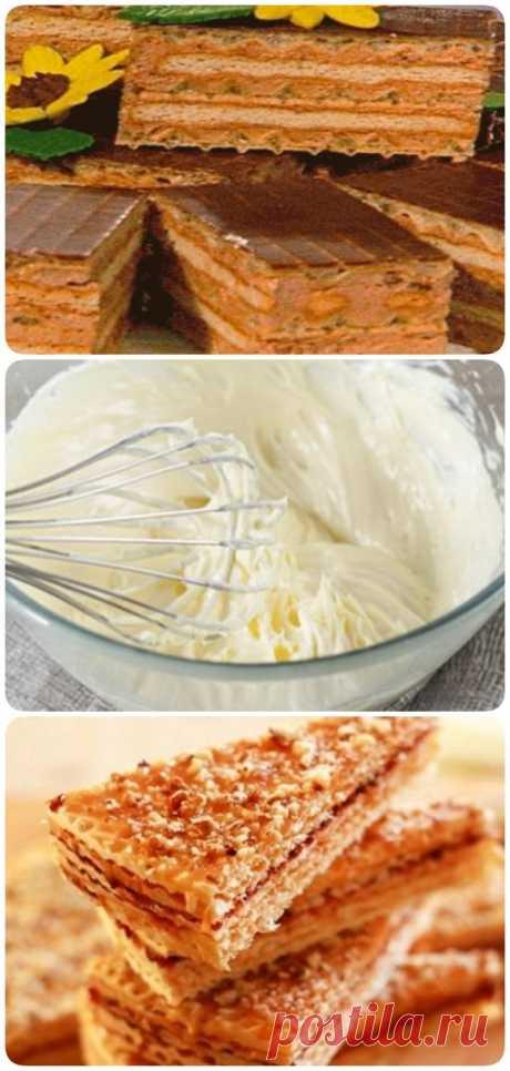 Торт из печенья и вафель без выпечки - Сайт для Вас Дорогие пользователи