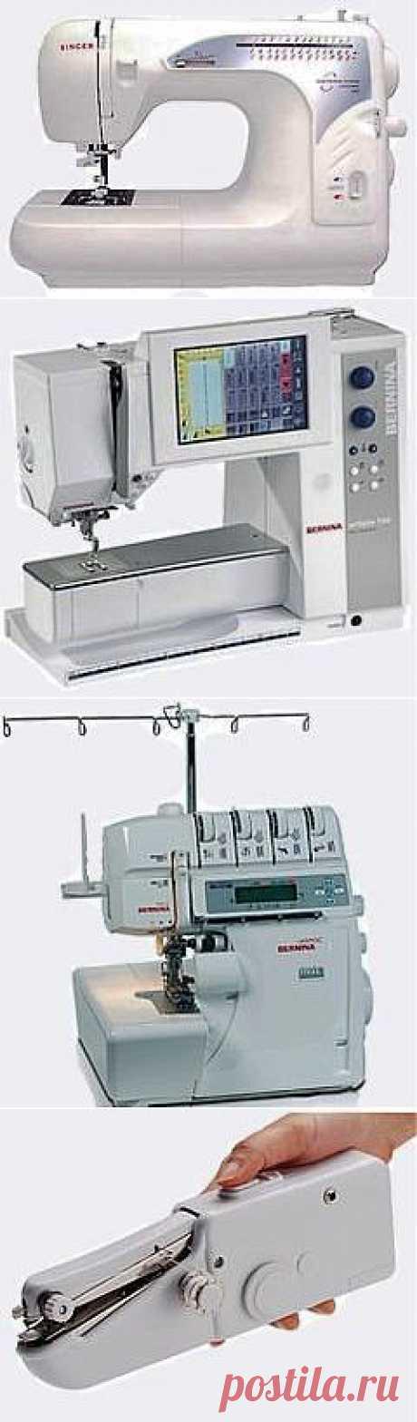 Советы по выбору швейной машинки