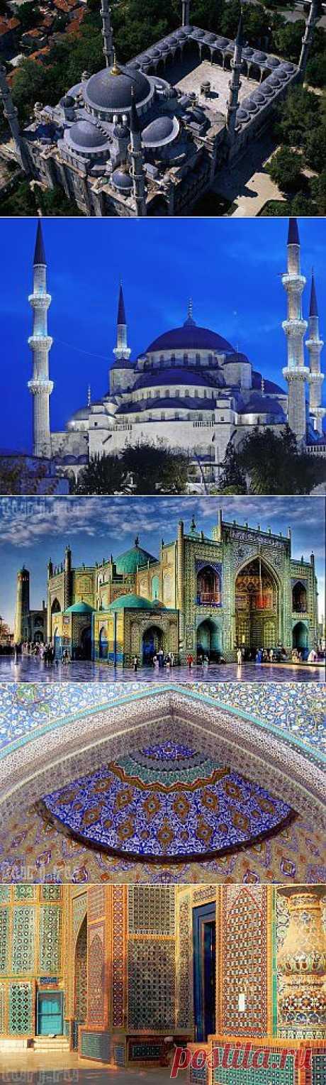 Голубые мечети – Легенды Восточной и Византийской архитектуры « Архитектура « Art-Caucasus