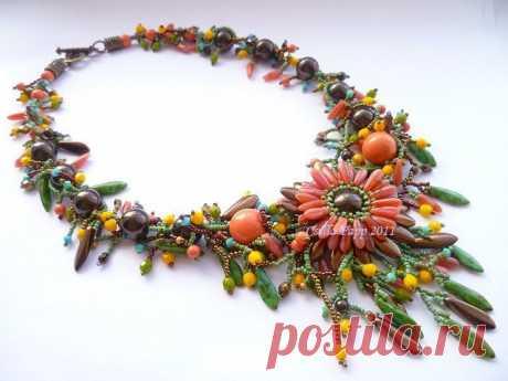 Бисероплетение. Украшения из бисера от Csilla Papp Soutache Jewelry.