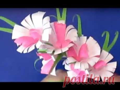 Сделать Красивый Подарок к 8 МАРТА для Мамы Бабушки Подруги Поделки Из Бумаги Цветы Своими Руками