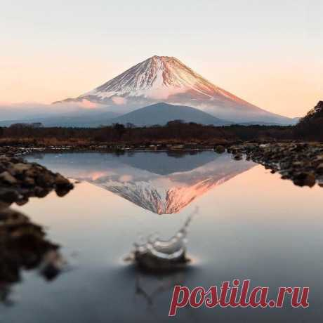 ༺🌸༻Гора Фудзияма. Япония