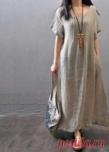 Dresses in style bokho (97 photos): linen, for full, white, bokho chic, summer, evening, knitted