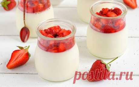 Молочный десерт для детей. Вместо мороженого! - Счастливый формат