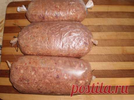 Домашняя чудо - колбаса!..