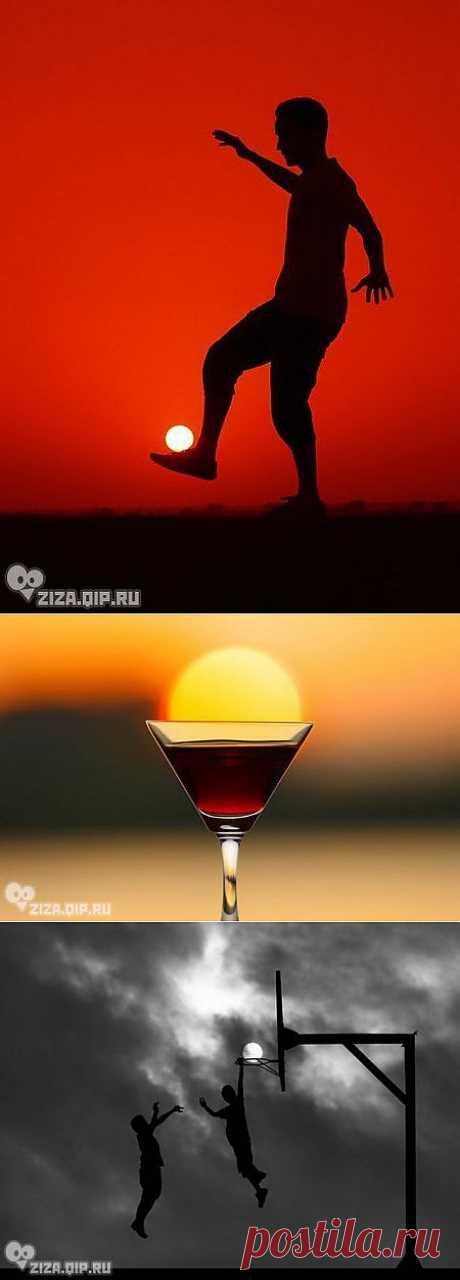 Солнышко в бокале.