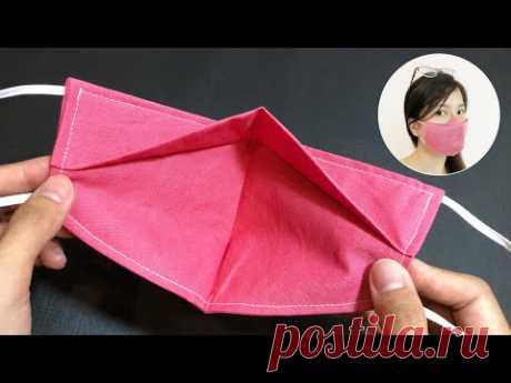 НИКАКИХ ТУМАНОВ НА СТЕКЛАХ - Очень быстрое и простое учебное пособие по пошиву 3D маски для лица