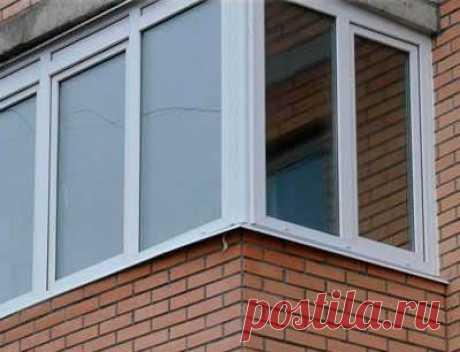 Самостоятельная установка пластиковых окон на балконе