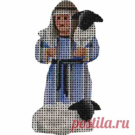 Small Nativity – Shepherd Boy Adorable high-quality Small Nativity - Shepherd Boy. The Needlepointer is a full-service shop specializing in hand-painted canvases, thread fibers, needlepoint books, accessories, needlepoint classes and much more.
